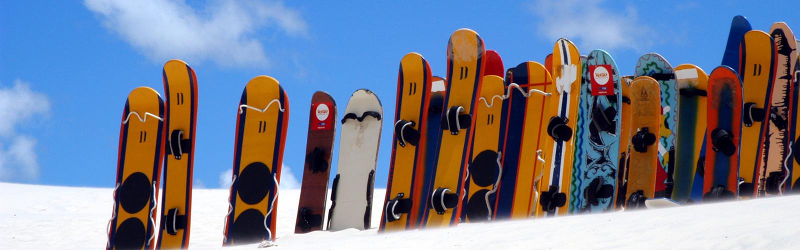 Sandboarding & Skibunda